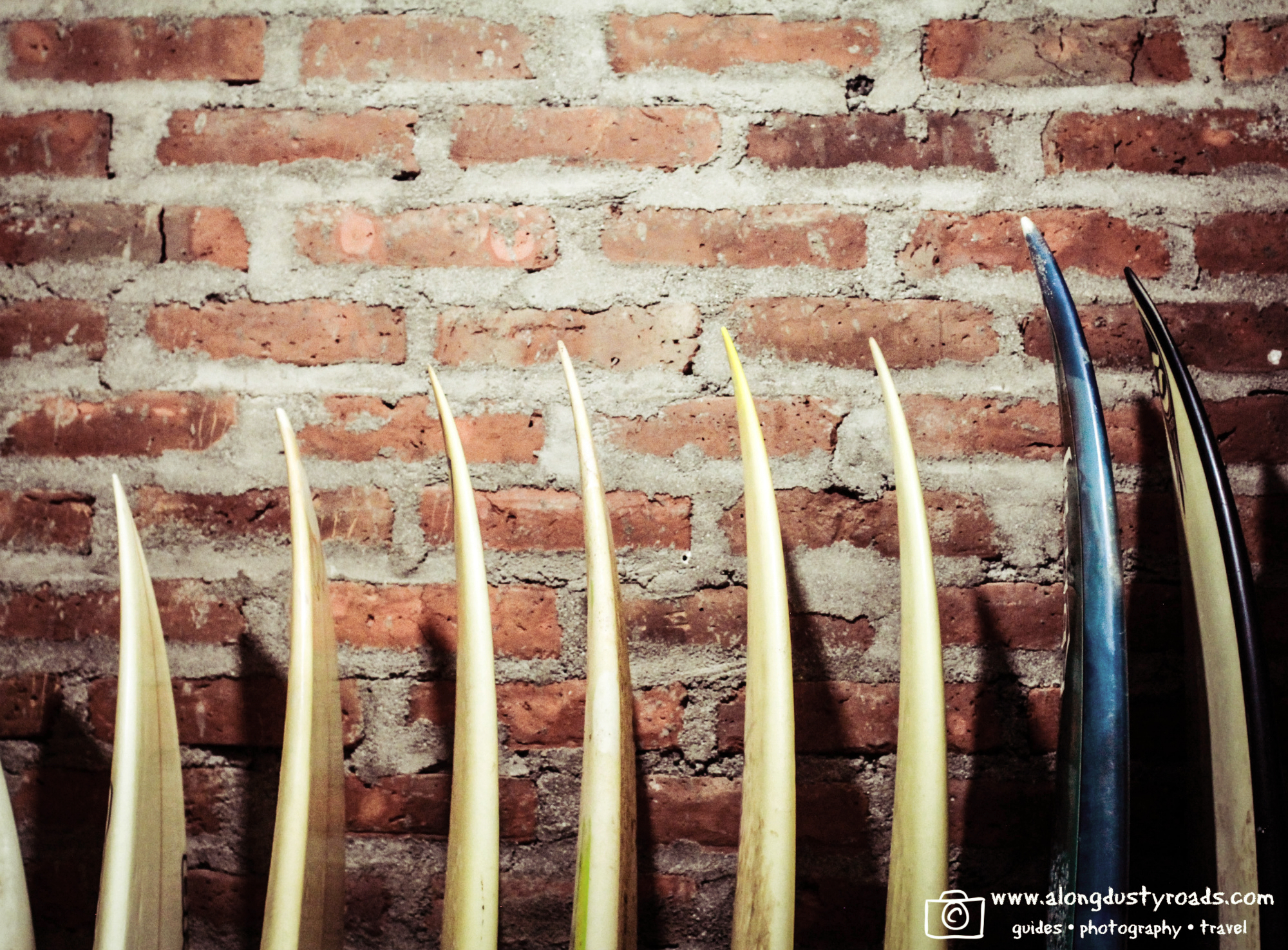Surfboards at Nicawaves, Nicaragua