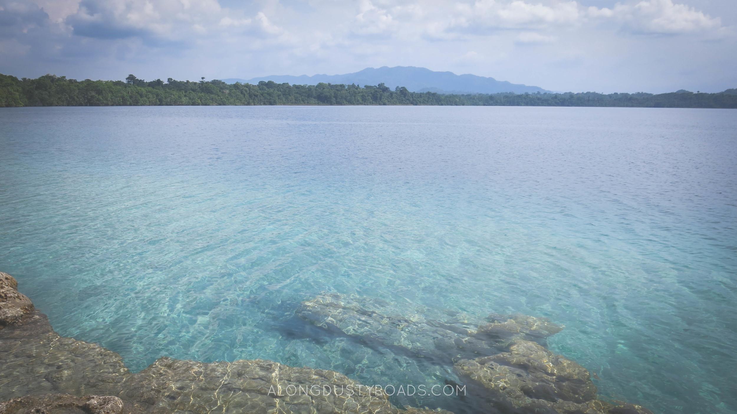crystal clear waters laguna lachua