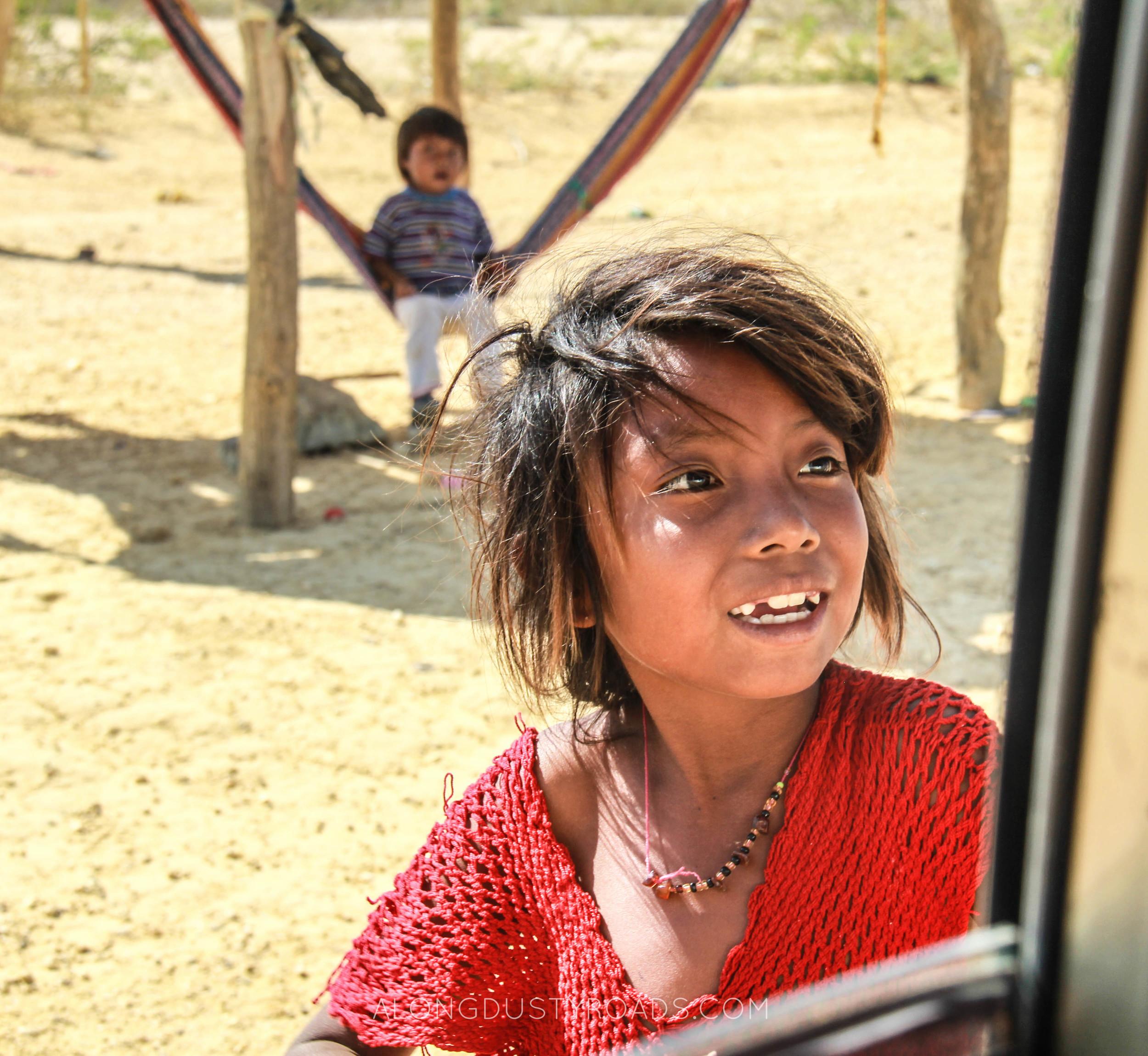 wayuu girl la guajira colombia