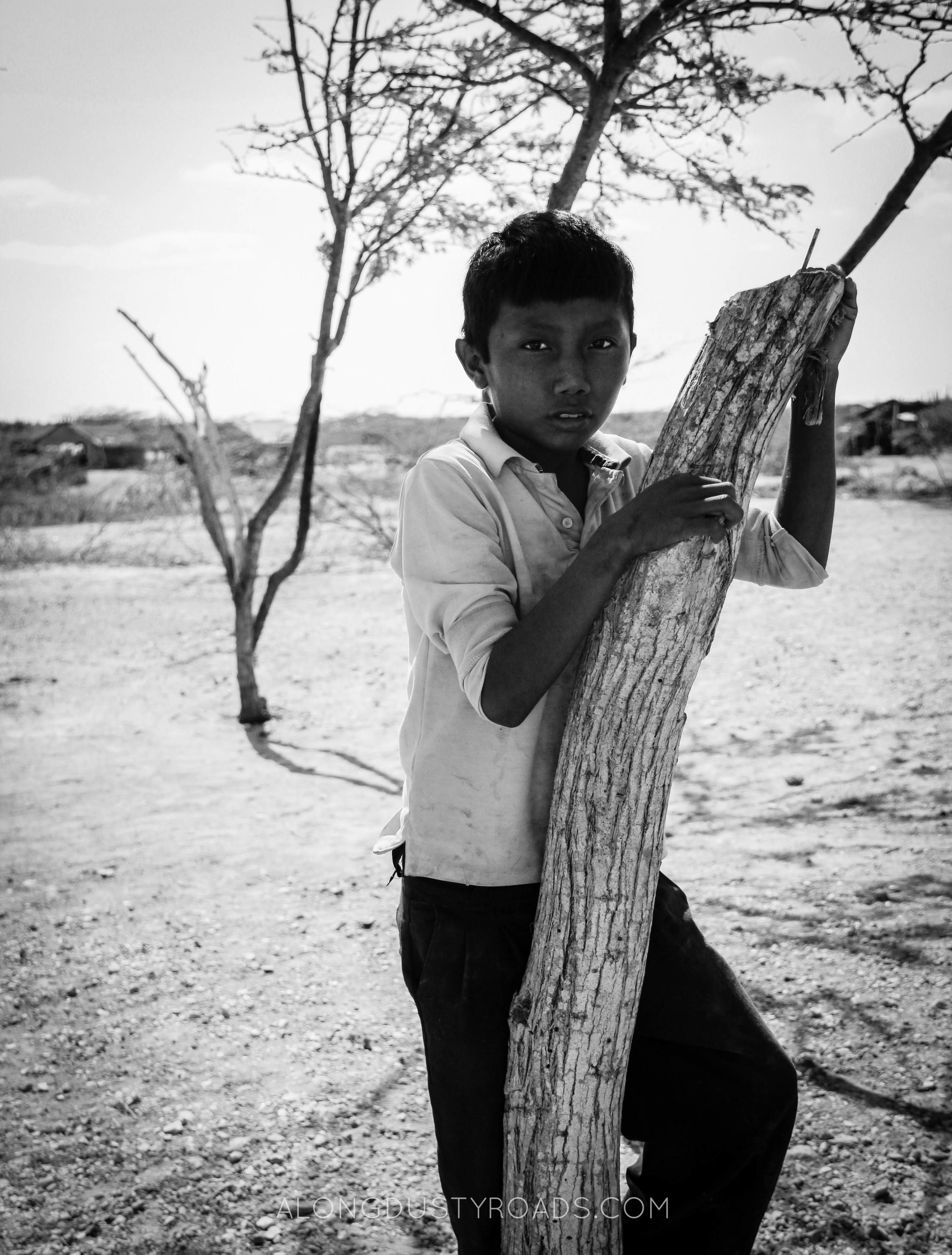 wayuu boy colombia la guajira