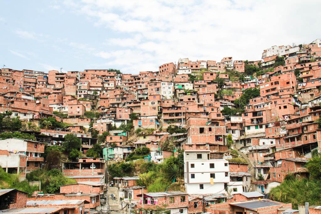 medellin houses skyline