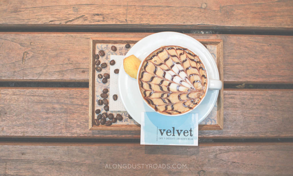 coffee cup art cafe velvet