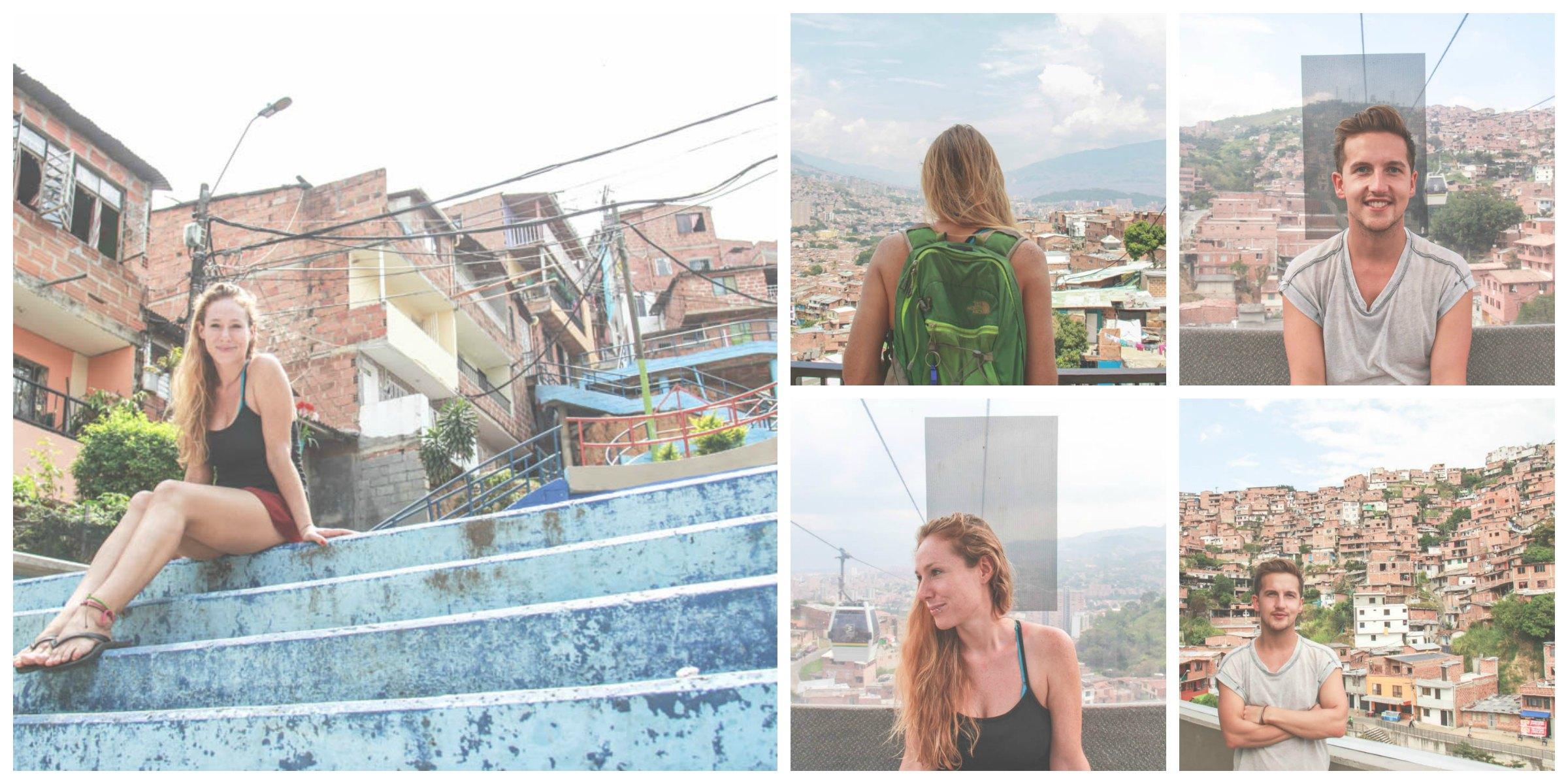 comuna 13 collage medellin colombia