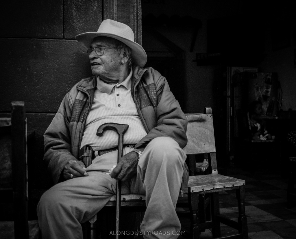 old man jardin colombia