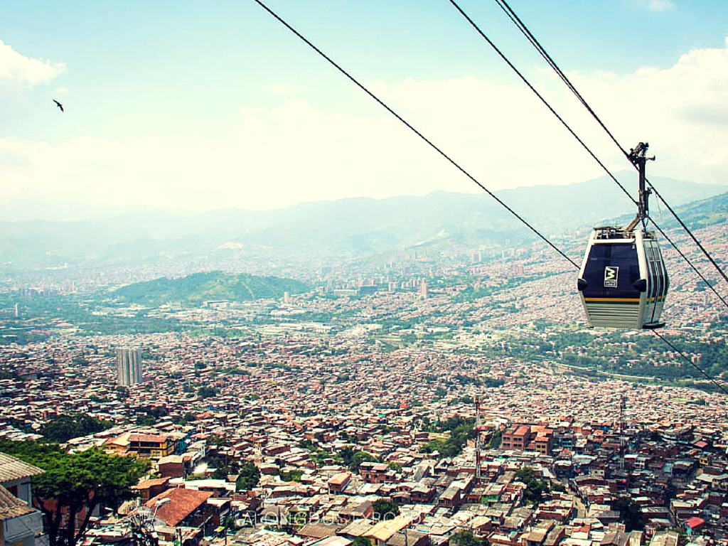 Things to do in Medellin - Ride the cable car