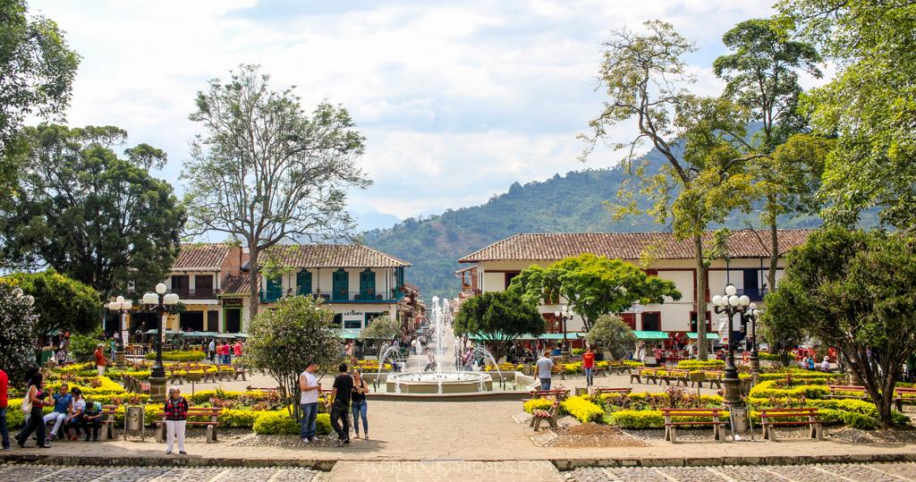 parque central jardin colombia