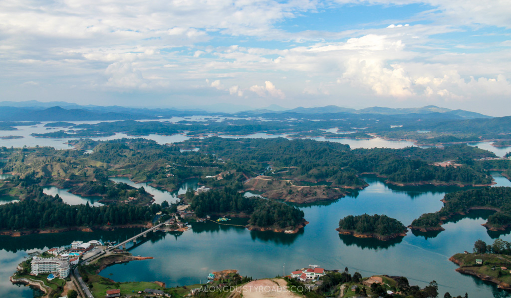 Things to do in Guatape Colombia - El Penol View