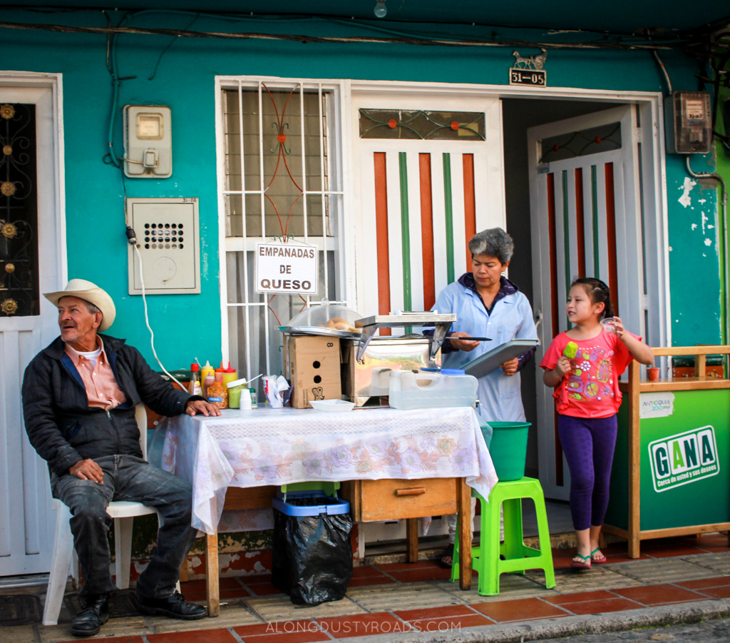 Things to do in Guatape Colombia - best empanadas in guatape, colombia