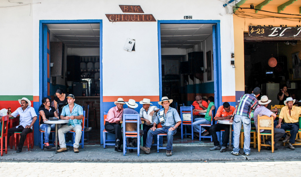 Jardin Cowboys, Colombia