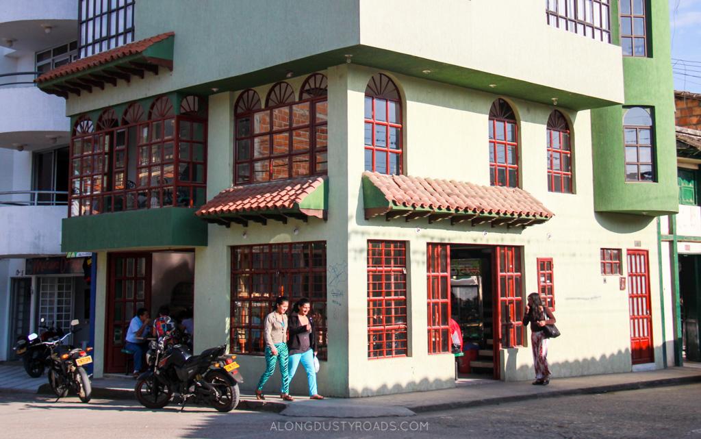ricuras bakery san agustin colombia