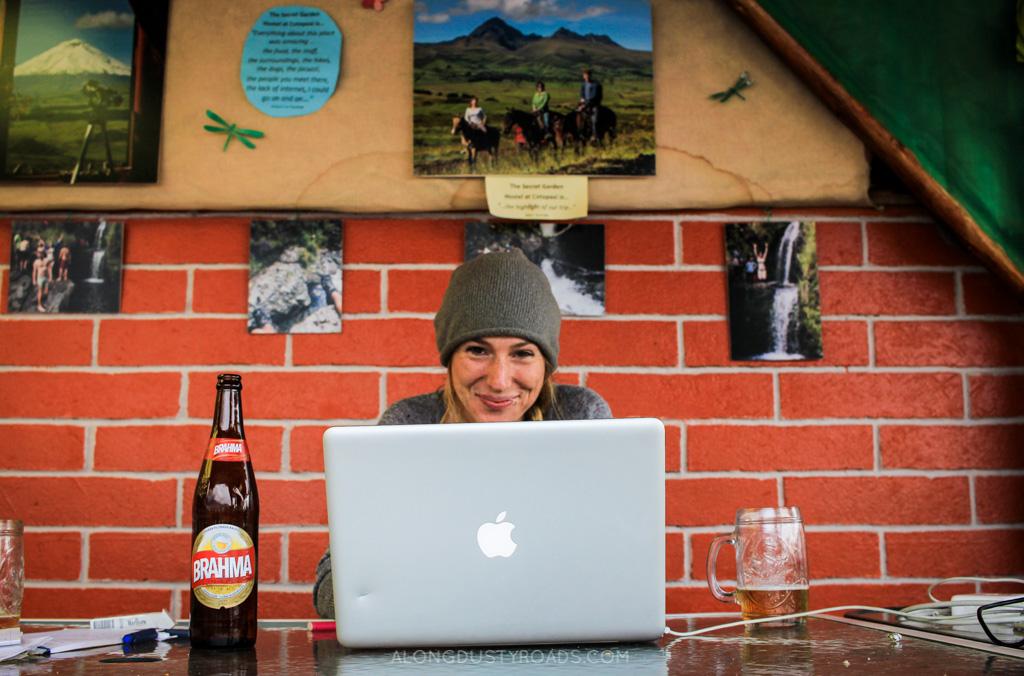 secret garden hostel quito ecuador
