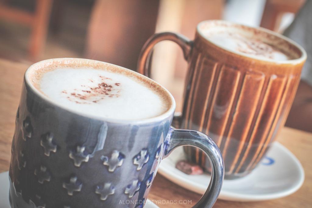 hot chocolate, kallari cafe, quito, ecuador