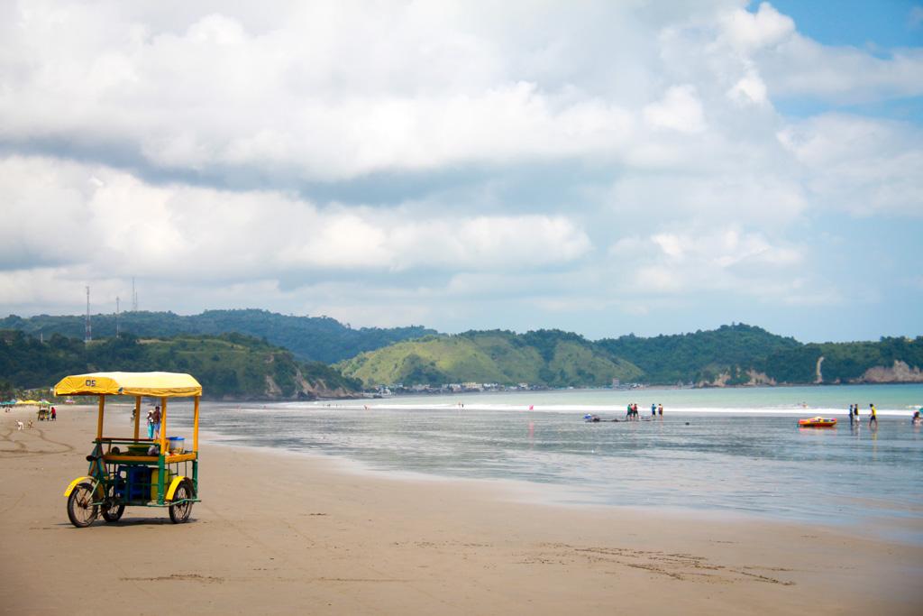 atacames beach, ecuador