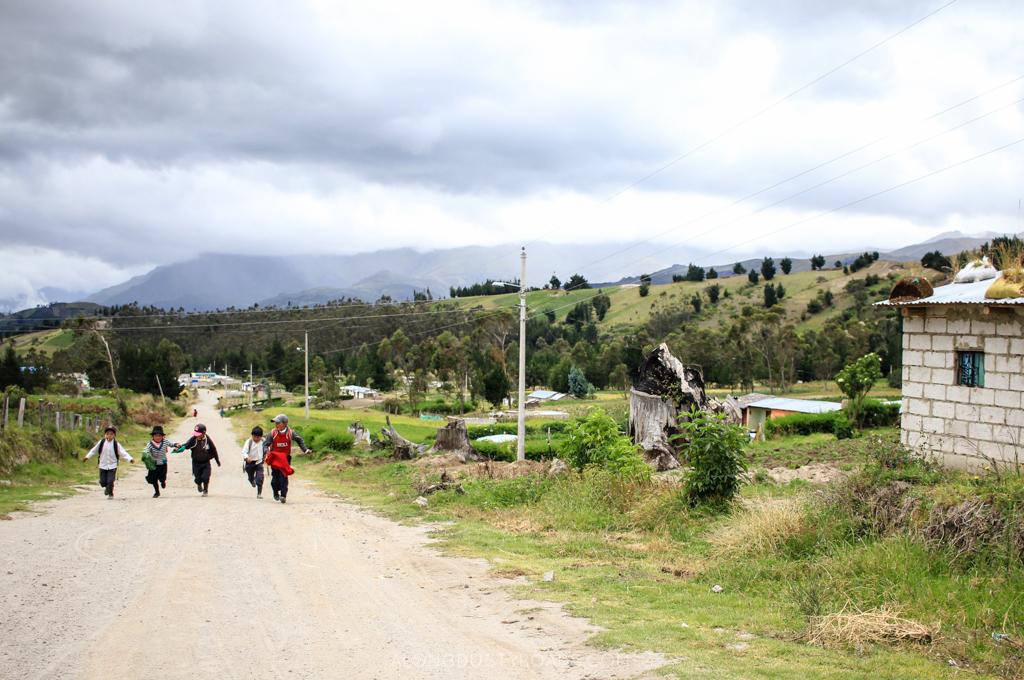The Kids of the Quilotoa Loop, Ecuador
