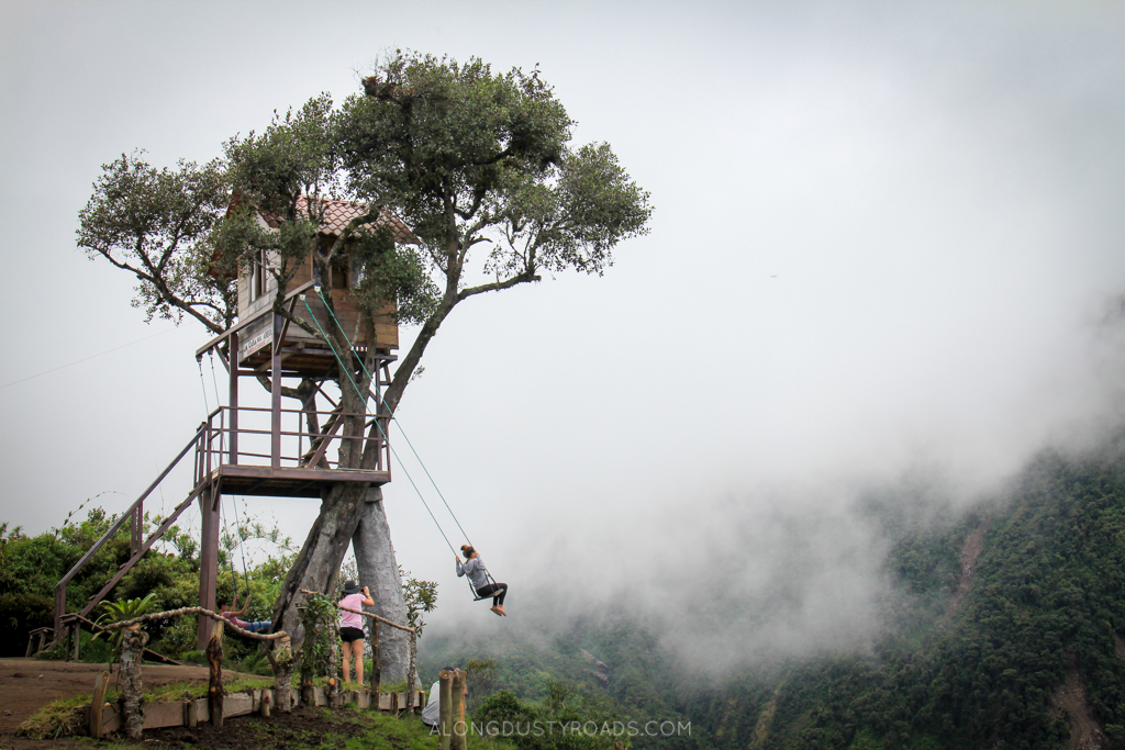 Casa del Arbol - 5 things to do in Baños, on a budget!
