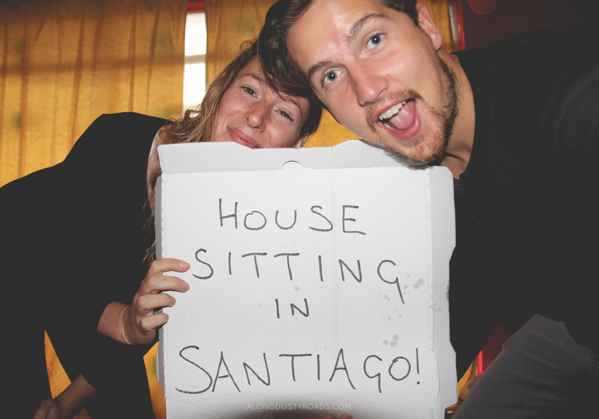 house sitting in snatiago