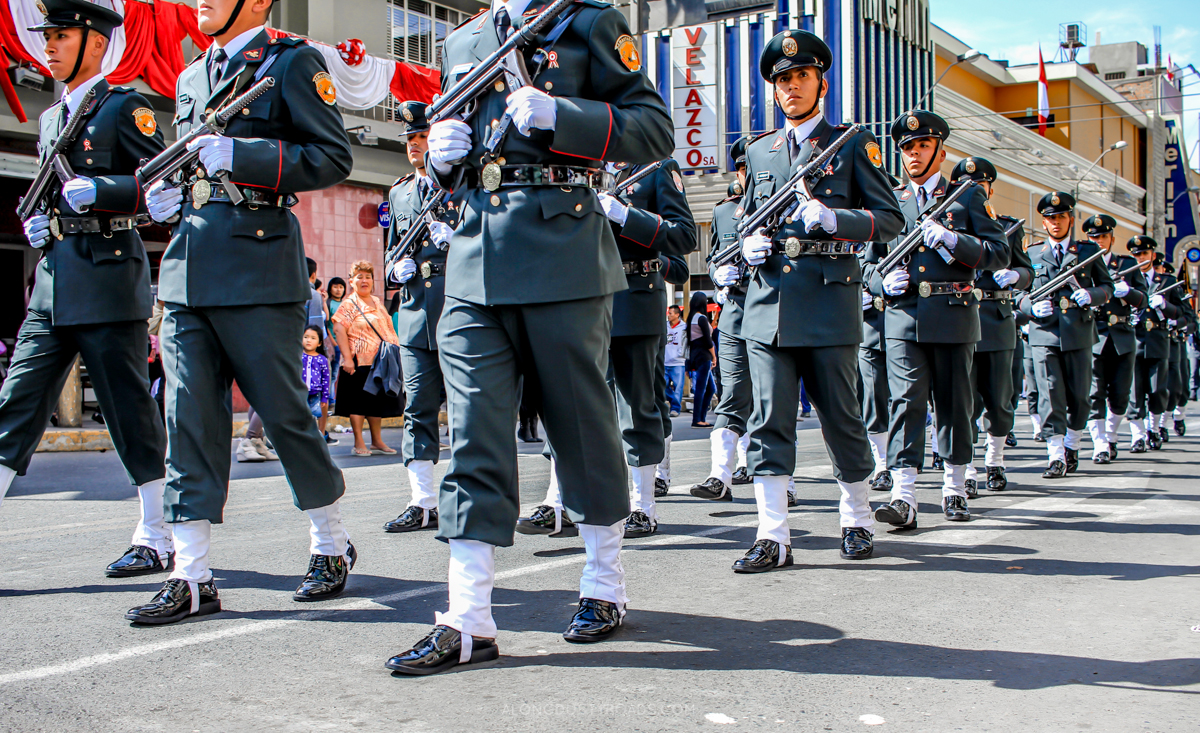 Independence Day Parade Peru July 28th