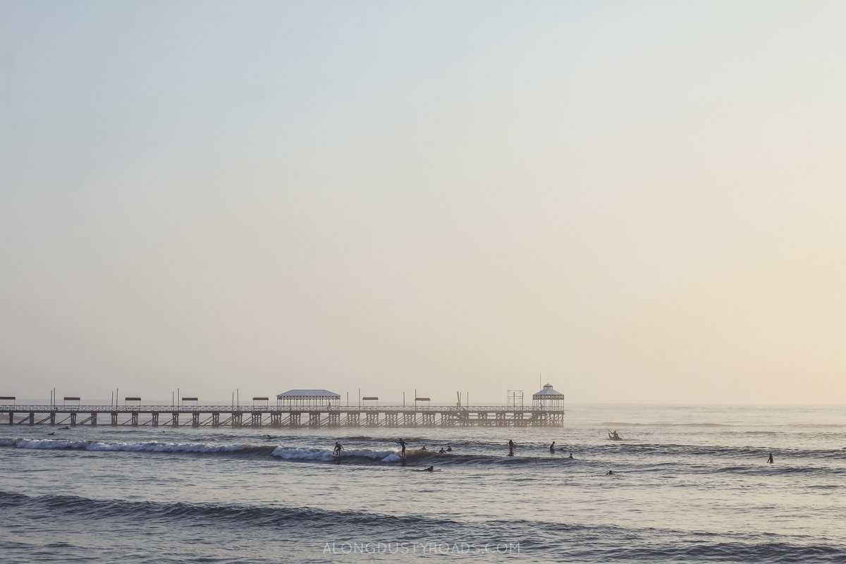 Five things to do in Huanchaco - surfing
