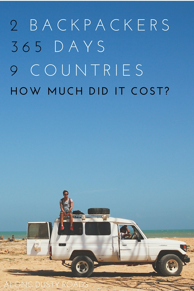 A life of cheap travel - how much did we spend in a year?