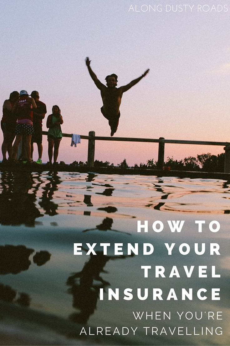 Getting travel insurance once you're already on the road can be tricky. Click through to the article to find our affordable solution.