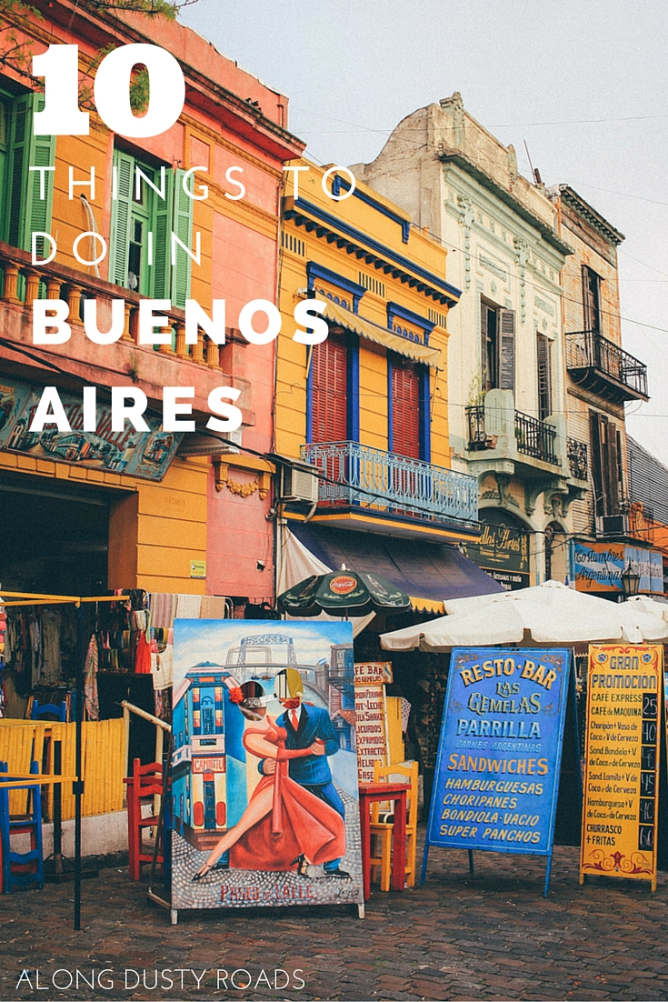 Looking for some great things to do in one of South America's most beautiful cities? Click on the pin for where to find the tastiest empanadas, one of the world's second best bookshop, a tango show for just a few pesos and seven more of our favourite things to do in Buenos Aires!