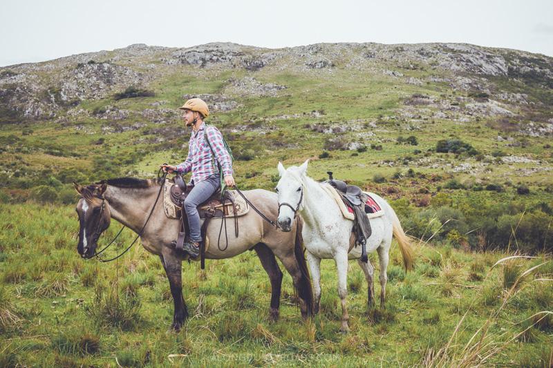A day on horseback at Caballo de Luz, Uruguay