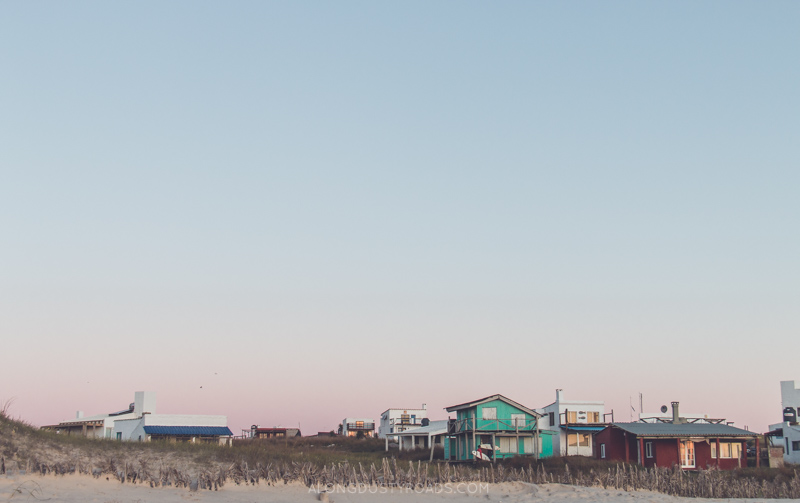 Cabo Polonio, Uruguay at dusk