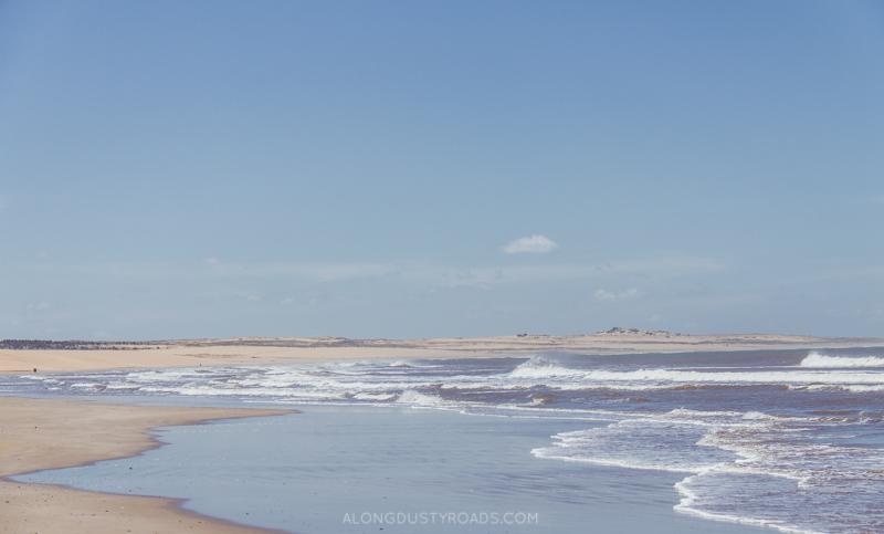 The beaches of Cabo Polonio, Uruguay