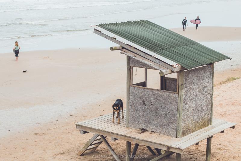 A beach cabin, Punta del Diablo, Uruguay