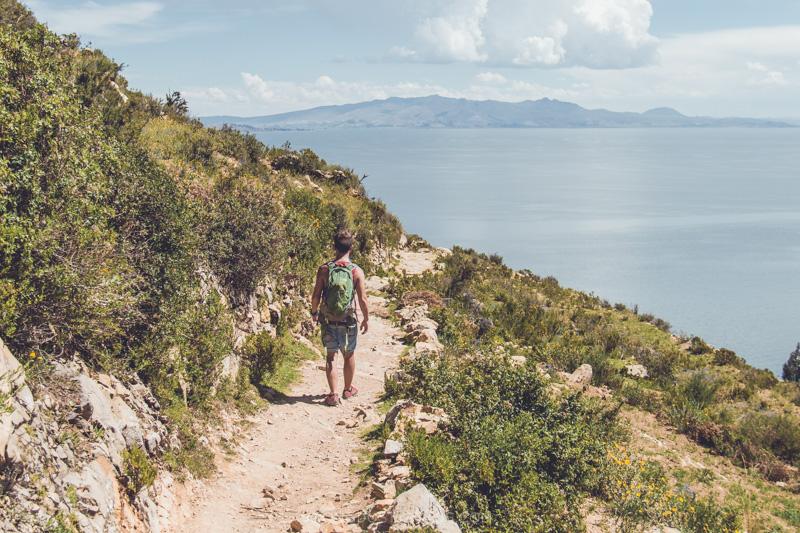 Hiking, Copacabana, Bolivia