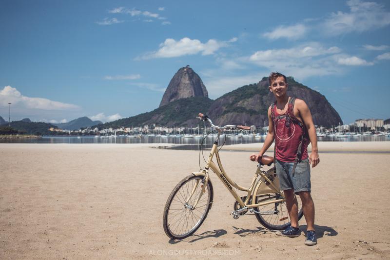 Rio by bike, bike tour, Brazil