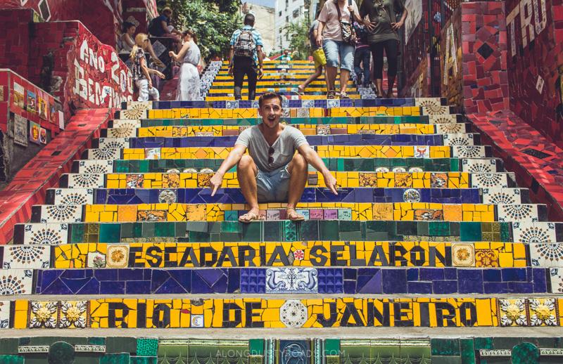 Selaron steps, Rio, Brazil