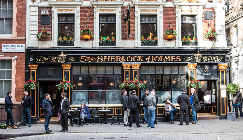 A proper British pub, London