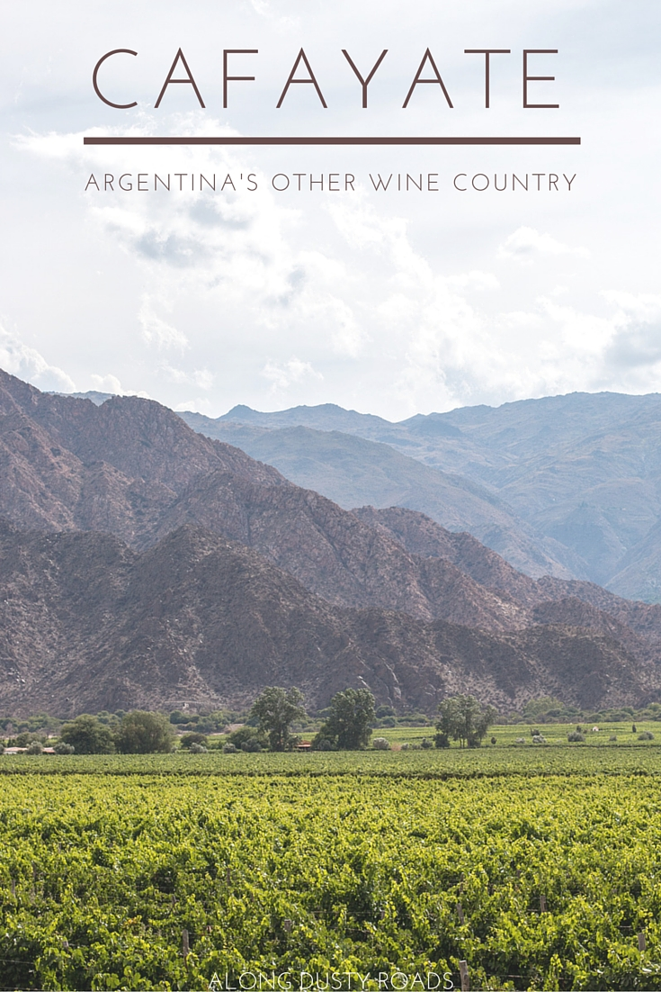 The birthplace of Torrontes, and home to many excellent bodegas, you could be forgiven for spending all your time propping up a bar sipping from carafes. However, there is much more to Cafayate than just dry heat and cold wine. Click on the pin to find out more about beautiful Cafayate in the north west of Argentina.