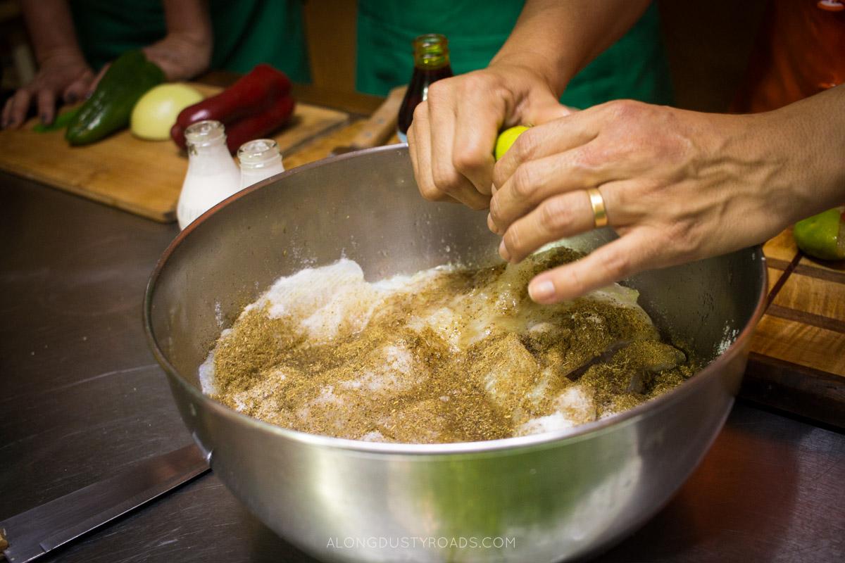 Making Moqueca - Cook in Rio, Brazil
