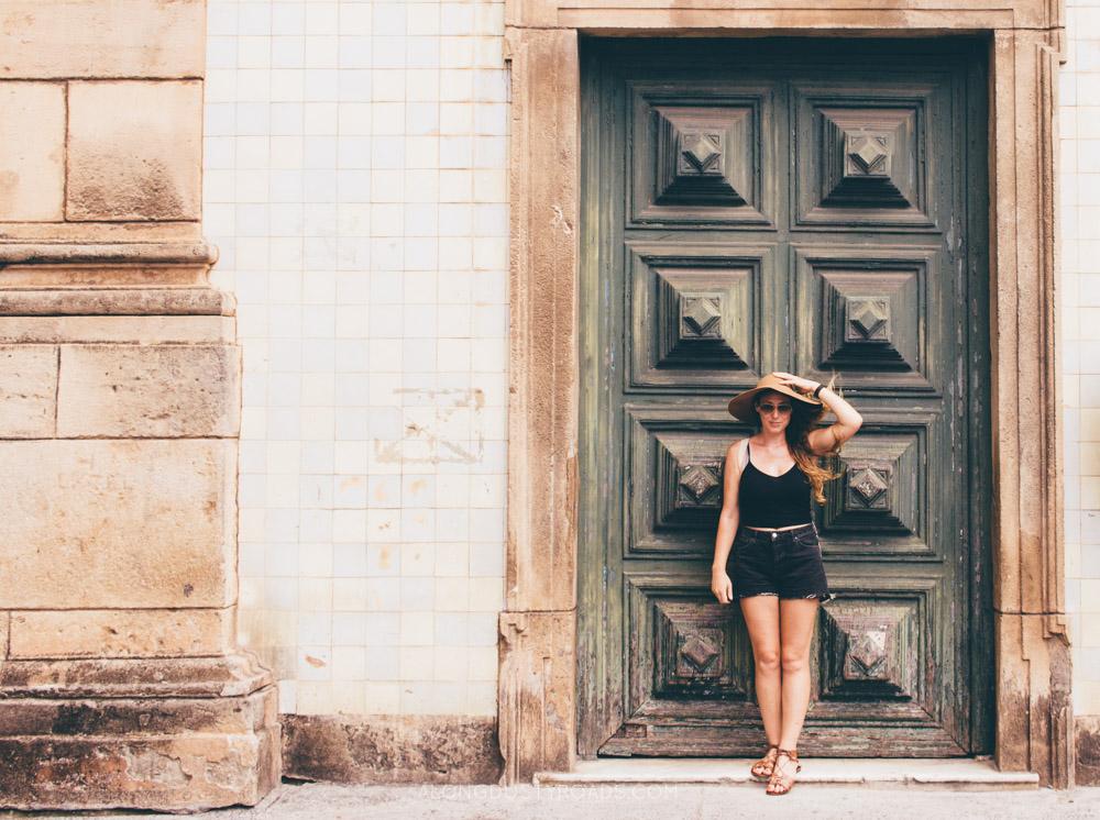 Beautiful doors in Salvador, Brazil