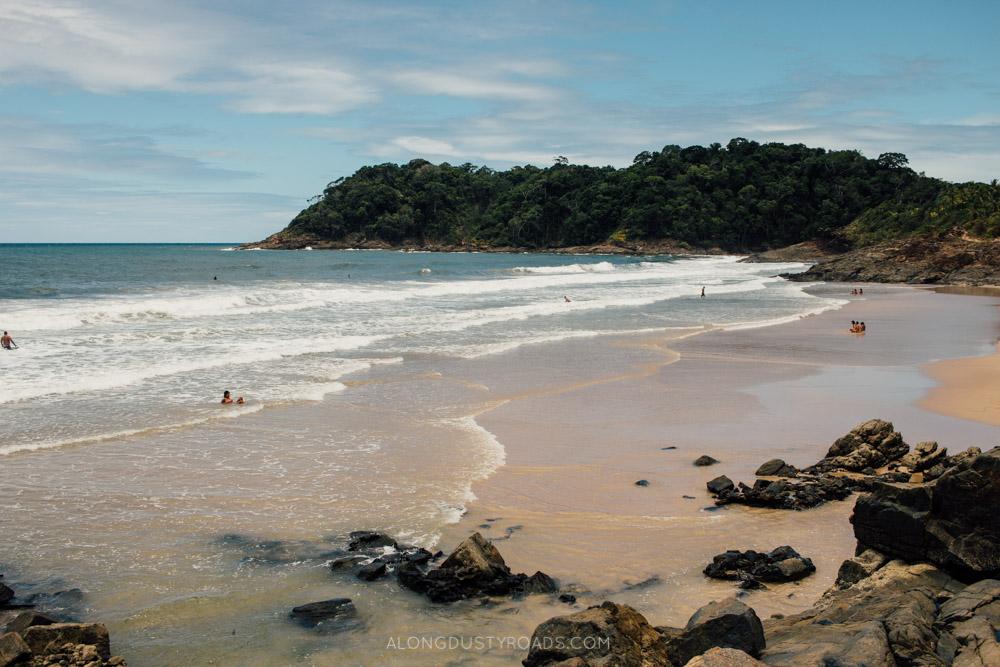 Beaches in Itacaré, Brazil