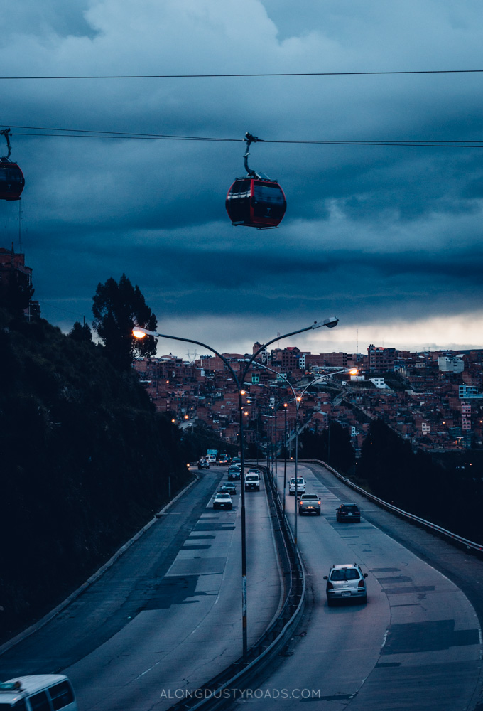 Ride the Cable Cars in La Paz, Bolivia