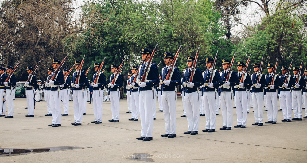 Armed Forces Parade, Independence Day, Santiago, Chile
