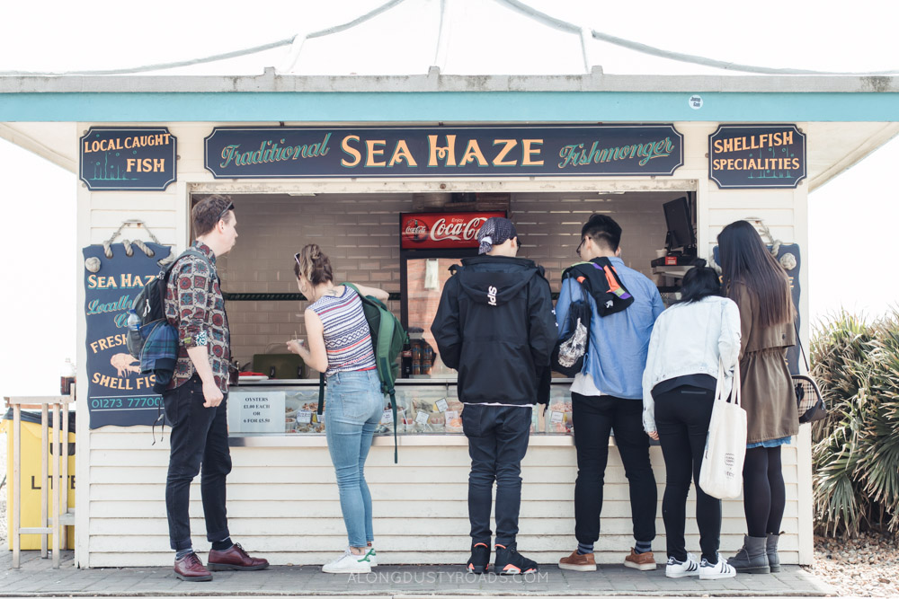 Things to do in Brighton -Fish and chips, Brighton