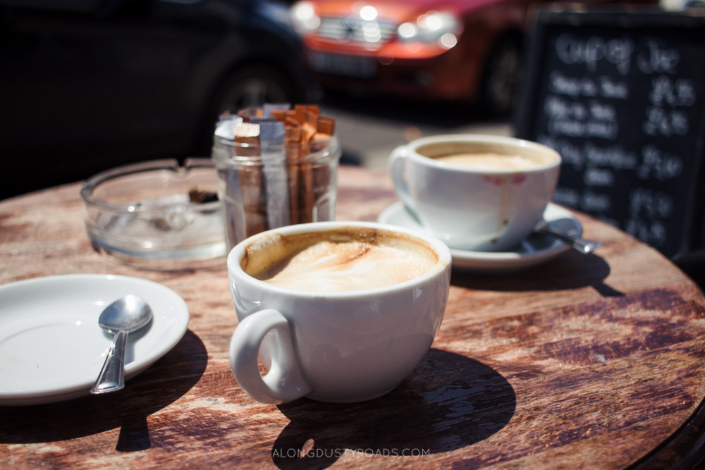 Things to do in Brighton - Drink coffee!
