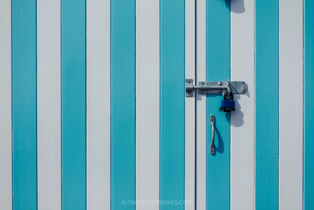 Things to do in Brighton - Colourful beach huts, Hove, Brighton
