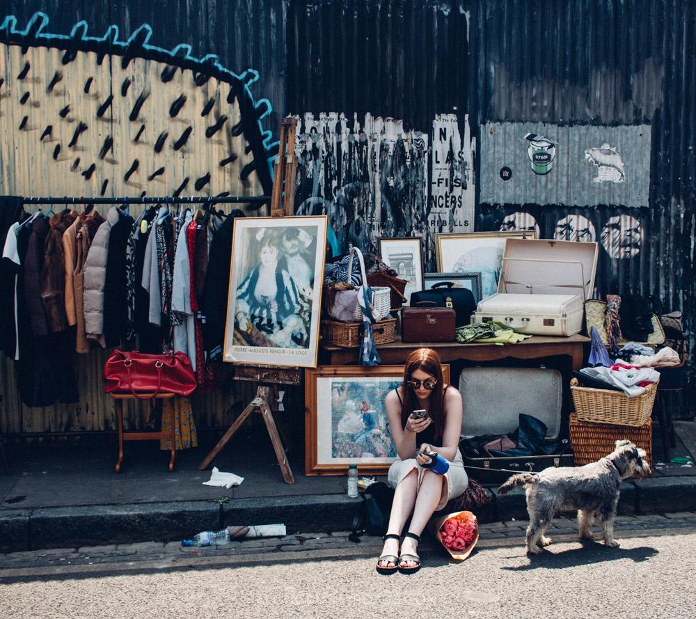 Colombia Road Flower Market - London