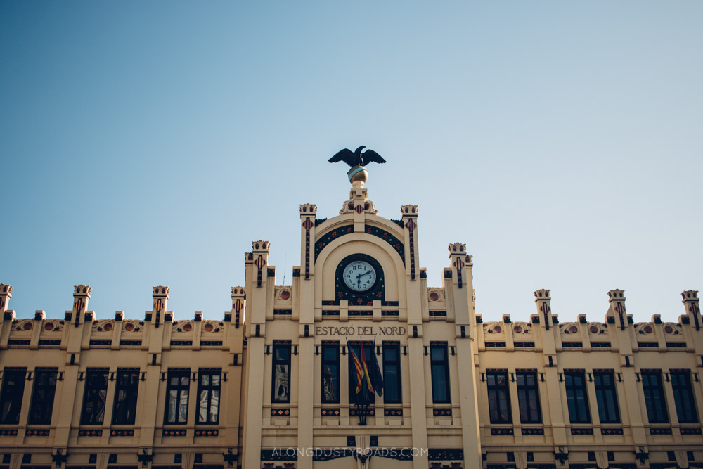 Estacio del Nord, Valencia, Spain - One of our favourite things to do in Valencia.