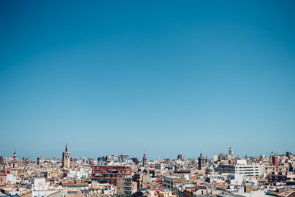Best rooftop view in Valencia - One of our favourite things to do in Valencia.