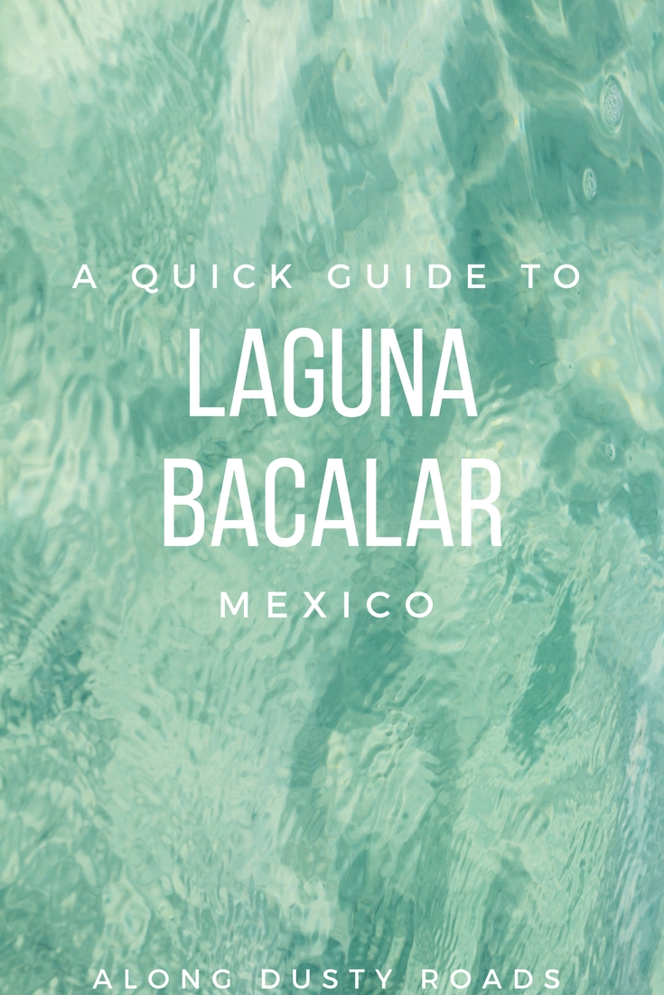 Ever heard of Laguna Bacalar? If you're heading to Mexico's Yucutan, this should definitely be on your list! Here's our quick guide.