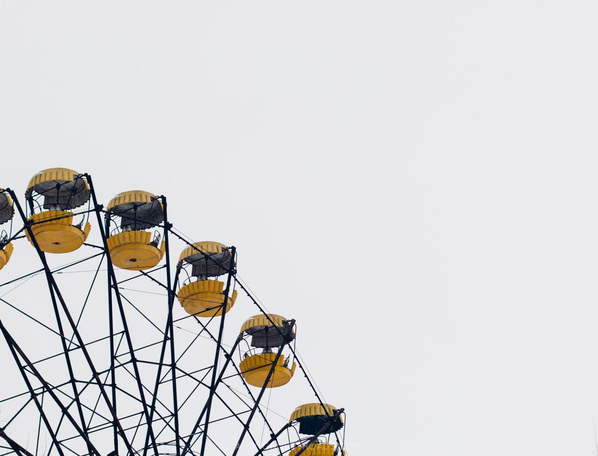 Pripyat Ferris wheel, Chernobyl, Ukraine