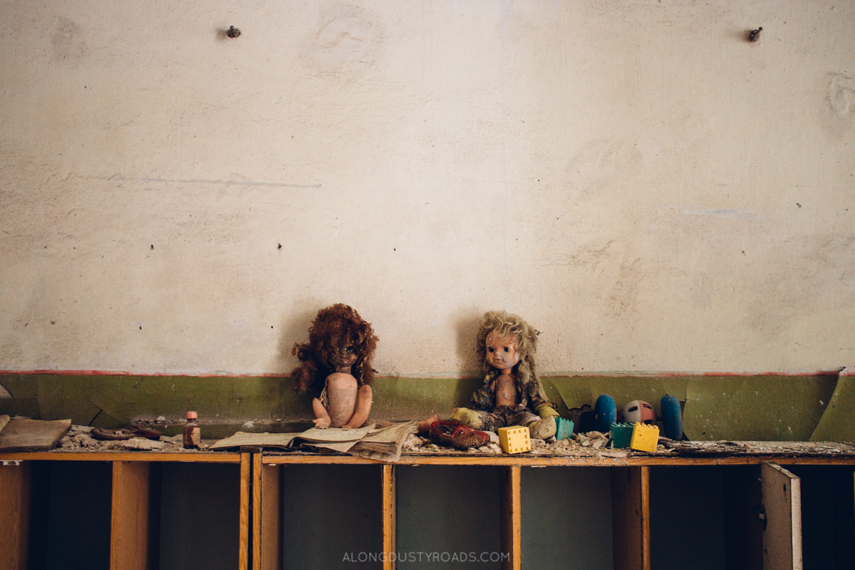 Abandoned nursery, Pripyat, Ukraine