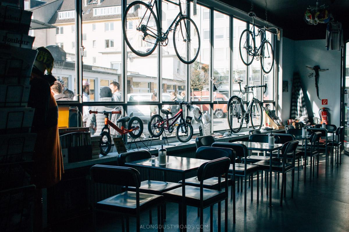 Cycling shop, Düsseldorf, Germany