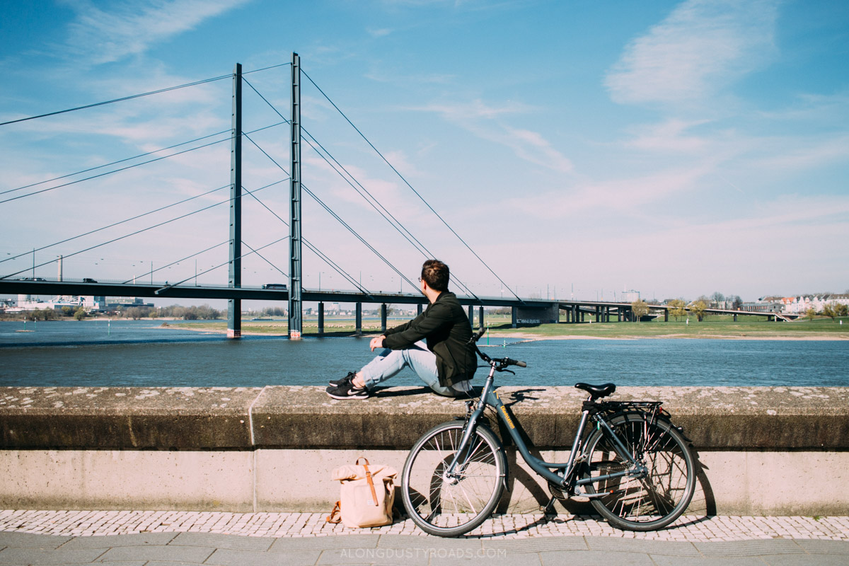 Things to do in Düsseldorf - Cycling in Düsseldorf, Germany